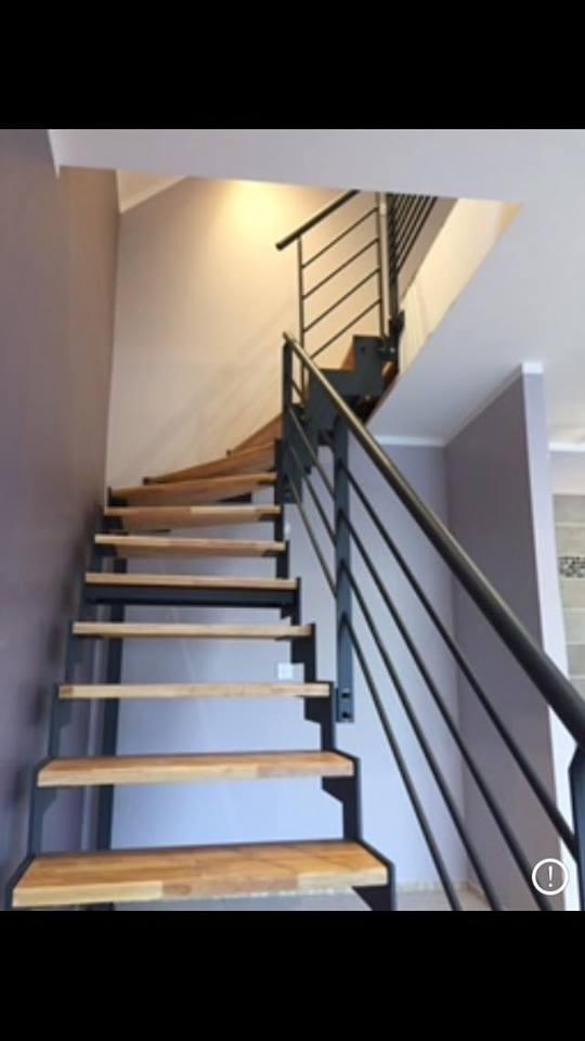 Escalier M Tal Marches Bois